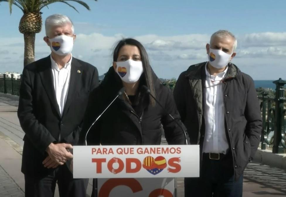 Arrimadas afirma que Cs es el voto seguro: El PSC y el PP siempre te la pueden jugar
