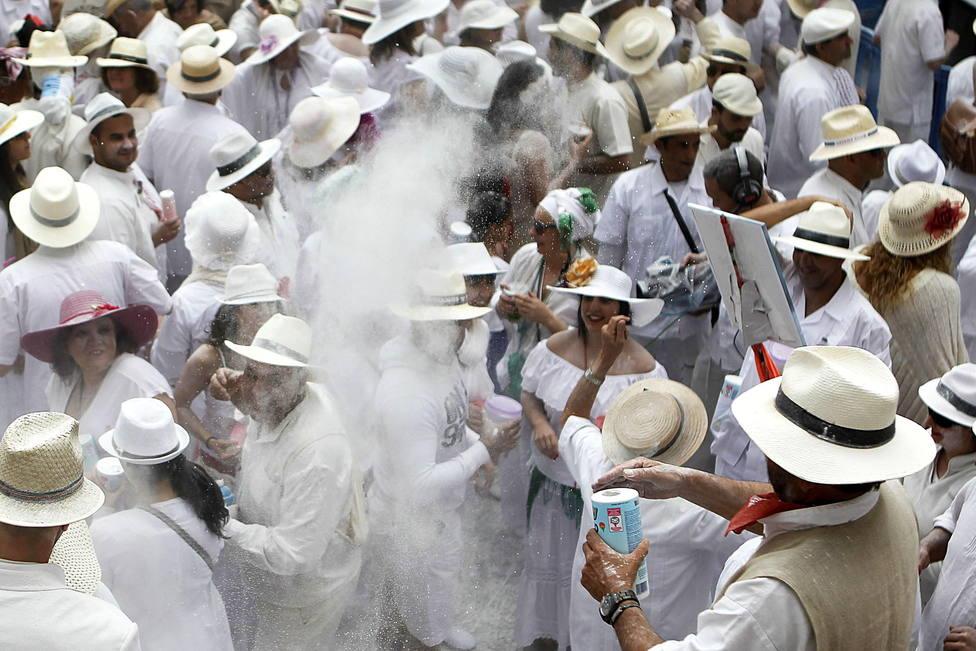 Indianos Carnaval La Palma