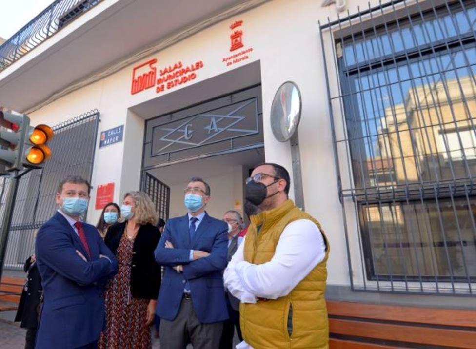 Los Garres estrena su nueva sala de estudios 24 horas con instalaciones 100% accesibles