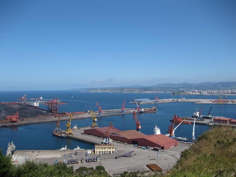 Foto exportaciones asturianas por el Puerto de El Musel
