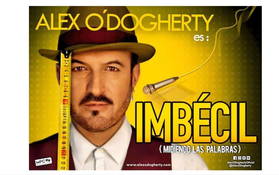 El jueves 18 de marzo actuará Alex O'Dogherty