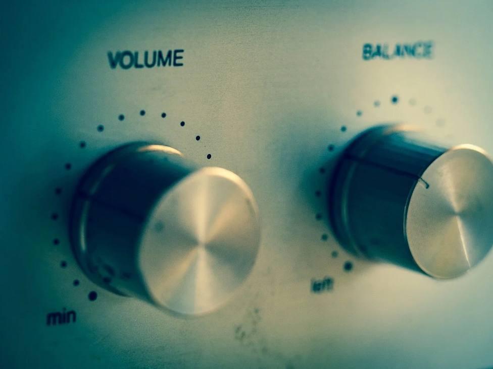 Botones para subir el volument