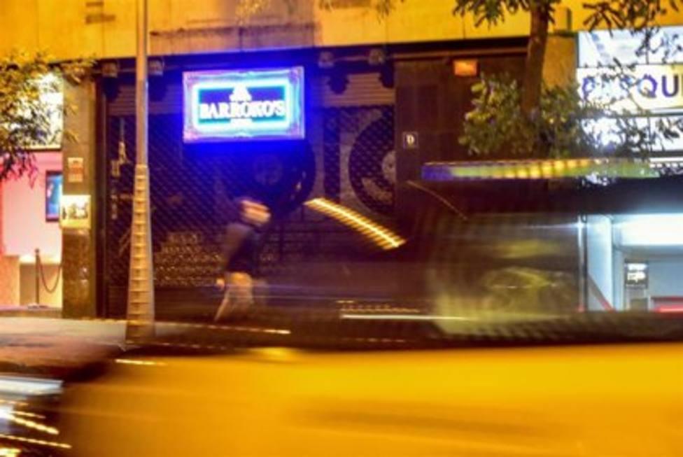Una discoteca cerrada en Barcelona, Catalunya