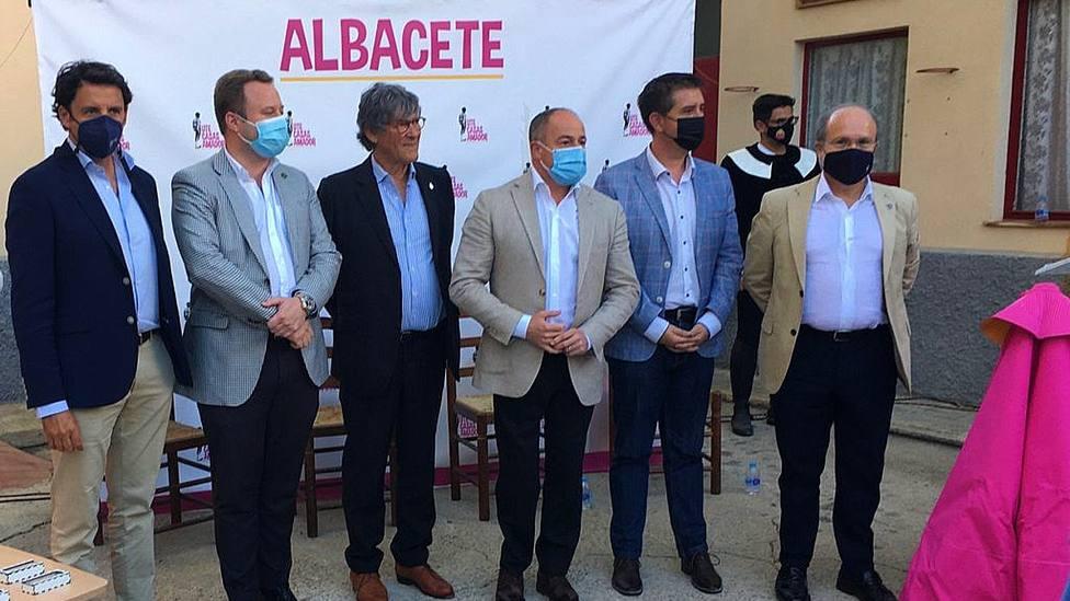 Acto de presentación de la nueva empresa gestora de la plaza de toros de Albacete