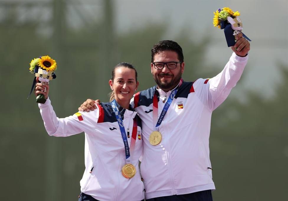 Fátima Gálvez y Alberto Fernández son campeones olímpicos en Trap Mixto y  conquistan el primer oro para España - Juegos Olímpicos - COPE