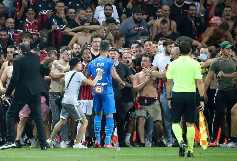 La Liga francesa resta puntos al Niza y manda repetir su partido frente al Marsella