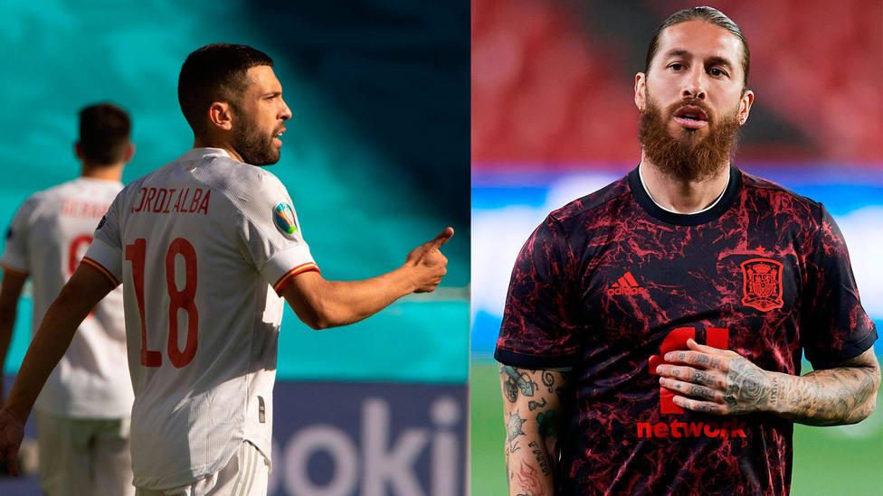 Jordi Alba y Sergio Ramos, dos de las caras habituales en la Selección Española de los últimos años