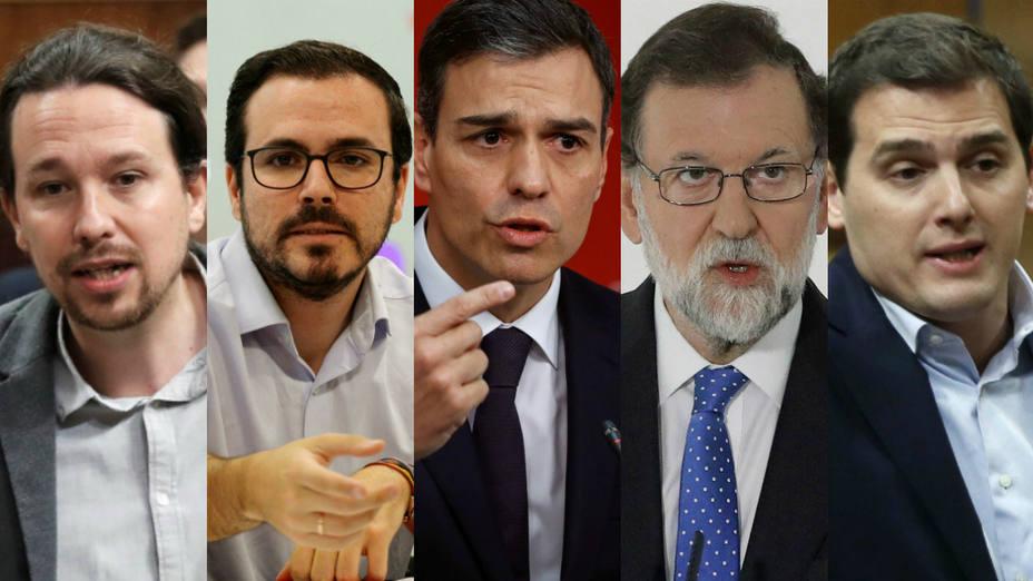 ¿Dónde viven y cuánto cuestan las casas de Rajoy, Sánchez, Rivera, Iglesias y Garzón?