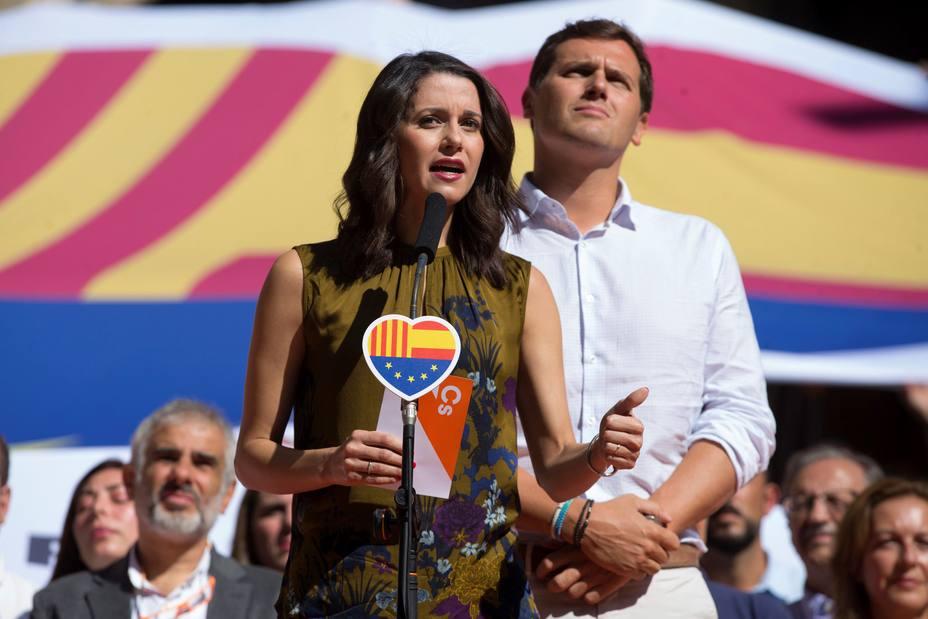 Acto de Ciudadanos en Barcelona