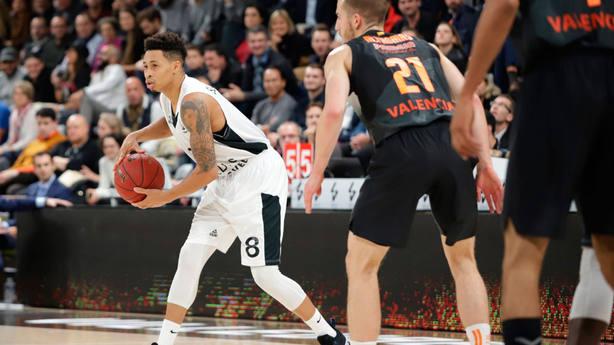 El Valencia Basket perdió ante Asvel Villeurbante (@valenciabasket)