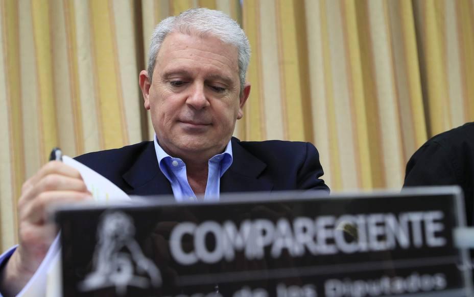 Pablo Crespo ante comisión sobre presunta financiación ilegal del PP