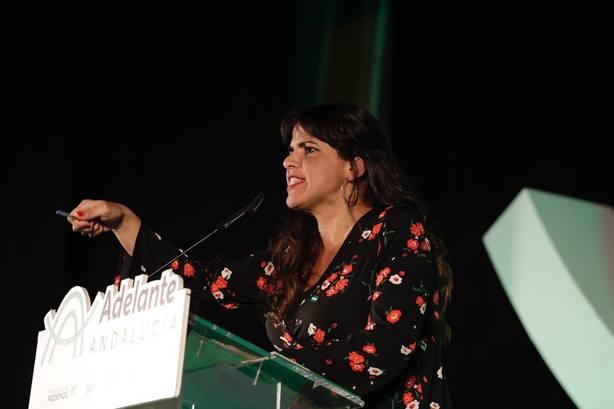 Teresa Rodríguez exige a Susana Díaz aclarar si volverá a entregarle el Gobierno andaluz a la derecha neoliberal
