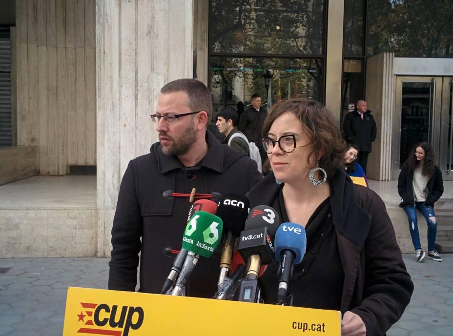 La CUP reprocha a PP y Cs no negarse a pactar con Vox y los responsabiliza de su resultado