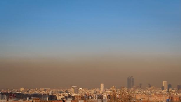 Activado el protocolo anticontaminación en Madrid para este miércoles con velocidad máxima a 70 km/h en la M-30