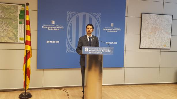 El conseller Damià Calvet sobre los PGE: No es con chantaje que conseguirán que hablemos con ellos