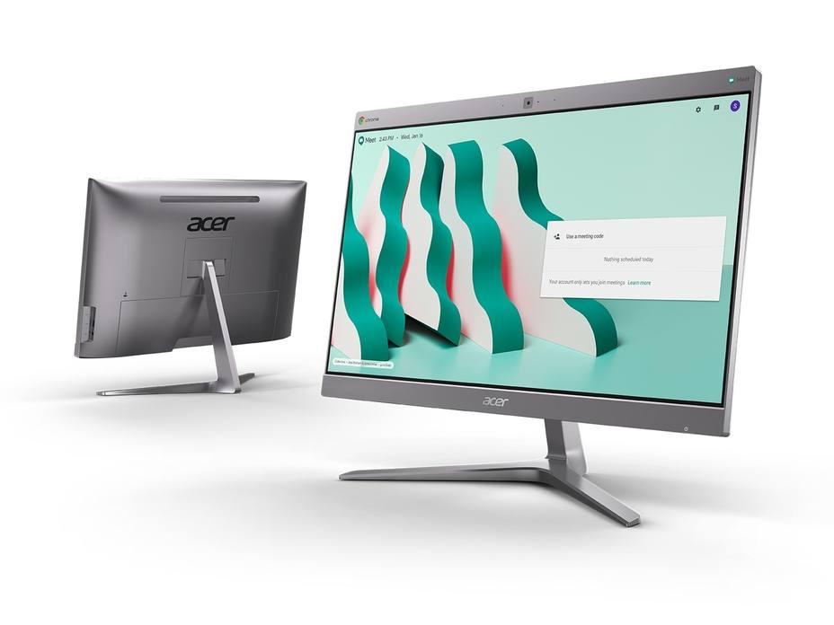 Acer presenta dos nuevos equipos Chromebase con procesadores Intel Core i7 para videoconferencias