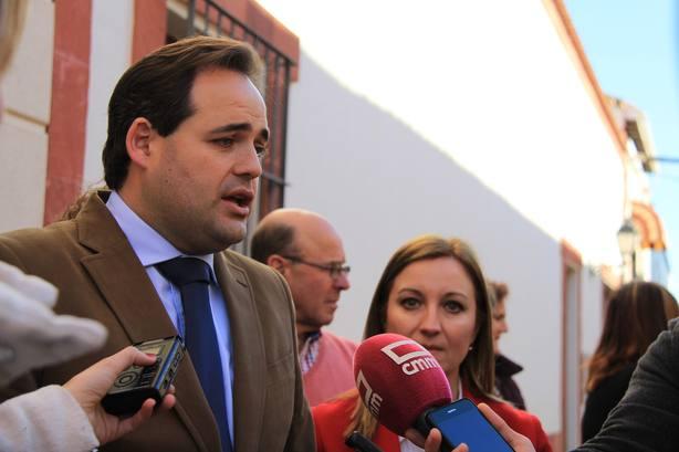 Paco Nuñez (PP), convencido del éxito de la concentración de este domingo