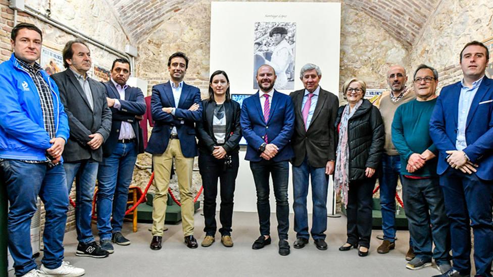 Acto de inauguración de las exposiciones taurinas que acogerá durante Fallas la plaza de Valencia