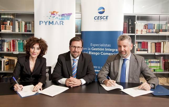 Cesce y Pymar renuevan el acuerdo para impulsar la internacionalización de los astilleros españoles