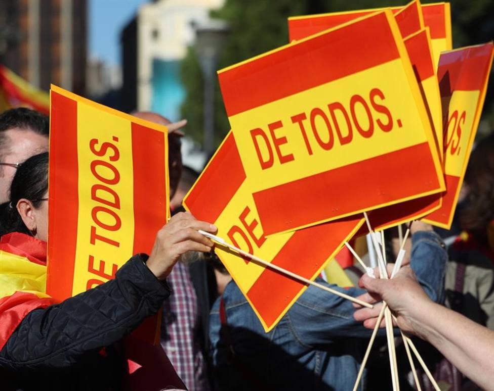 Una manifestación por la unidad de España hará frente al acto independentista de Madrid