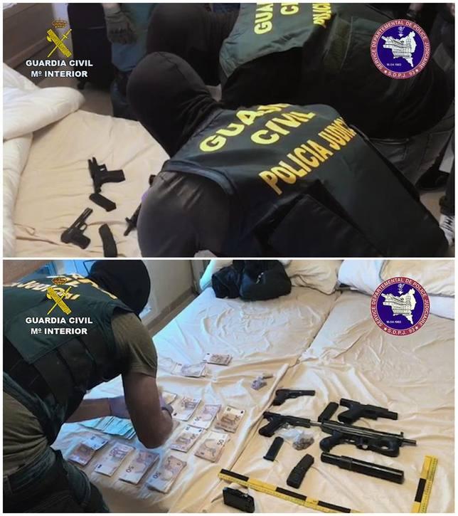 Desarticulada una red que llevaba hachís y cocaína desde Málaga a Francia oculta en vehículos