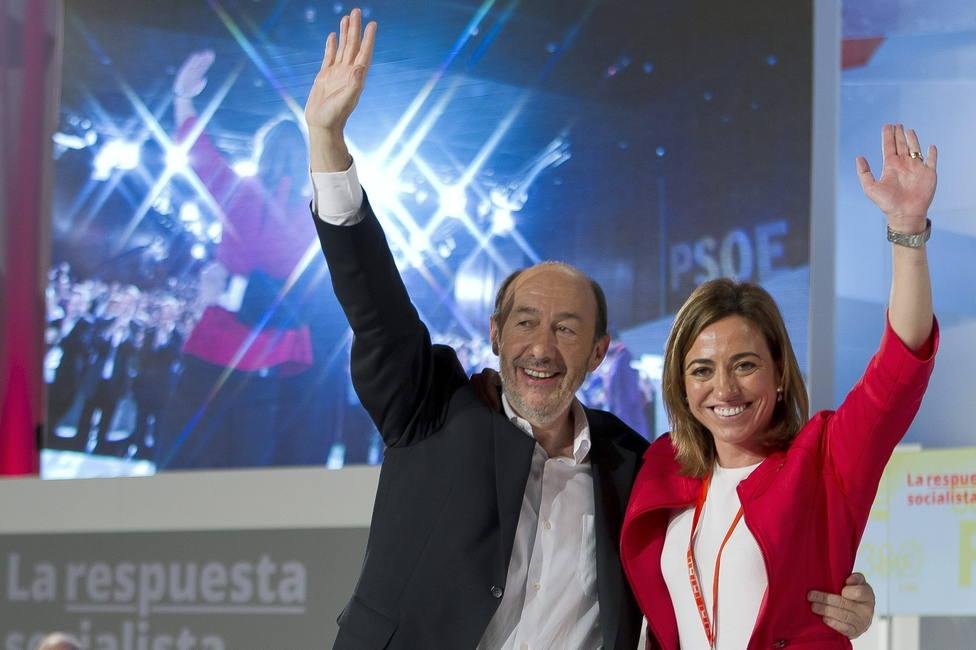 La foto de Rubalcaba y Carme Chacón que recuerda lo rápido que pasa el tiempo