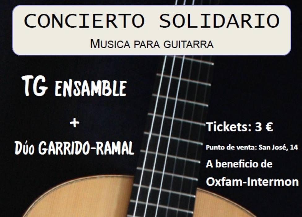 El 'Taller de Música para guitarra' ofrecerá un concierto solidario en Fundación Caja Rural del Sur