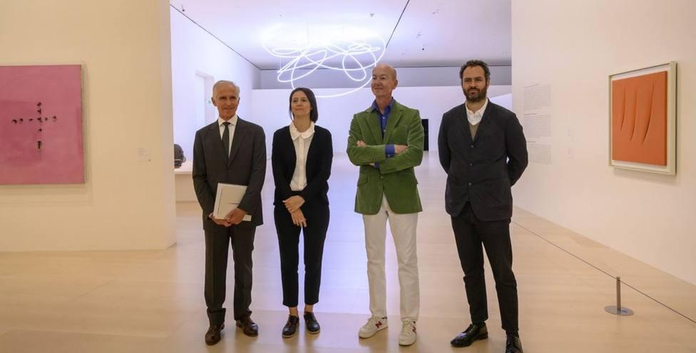 Lucio Fontana expone en el Guggenehim Bilbao