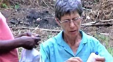Inés Nieves Sancho, la misionera de 77 años, que ha muerto decapitada en República Centroafricana