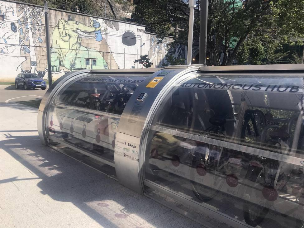 Santander estrena su primer aparcamiento para bicis cerrado