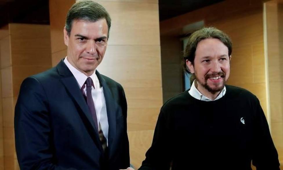 La mala relación personal entre Sánchez e Iglesias que pone en riesgo la investidura