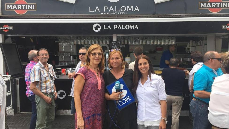 Estamos con la propietaria de La Paloma y con Confitería Camilo de Blas en COPE