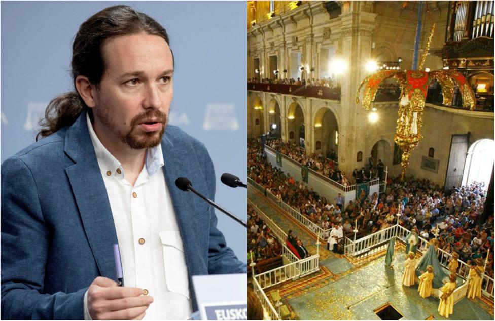 """La lluvia de críticas a Podemos por calificar de """"machista"""" el mapa de fiestas locales de España"""