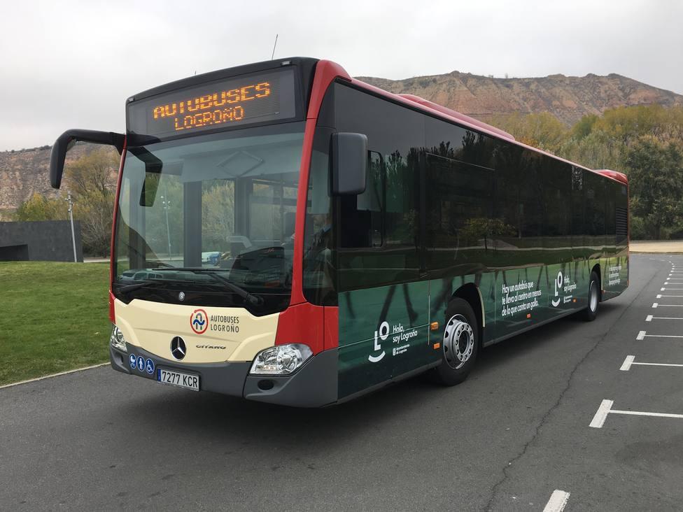 Los estudiantes de Logroño podrán renovar sus abonos de transporte urbano mediante vía telemática