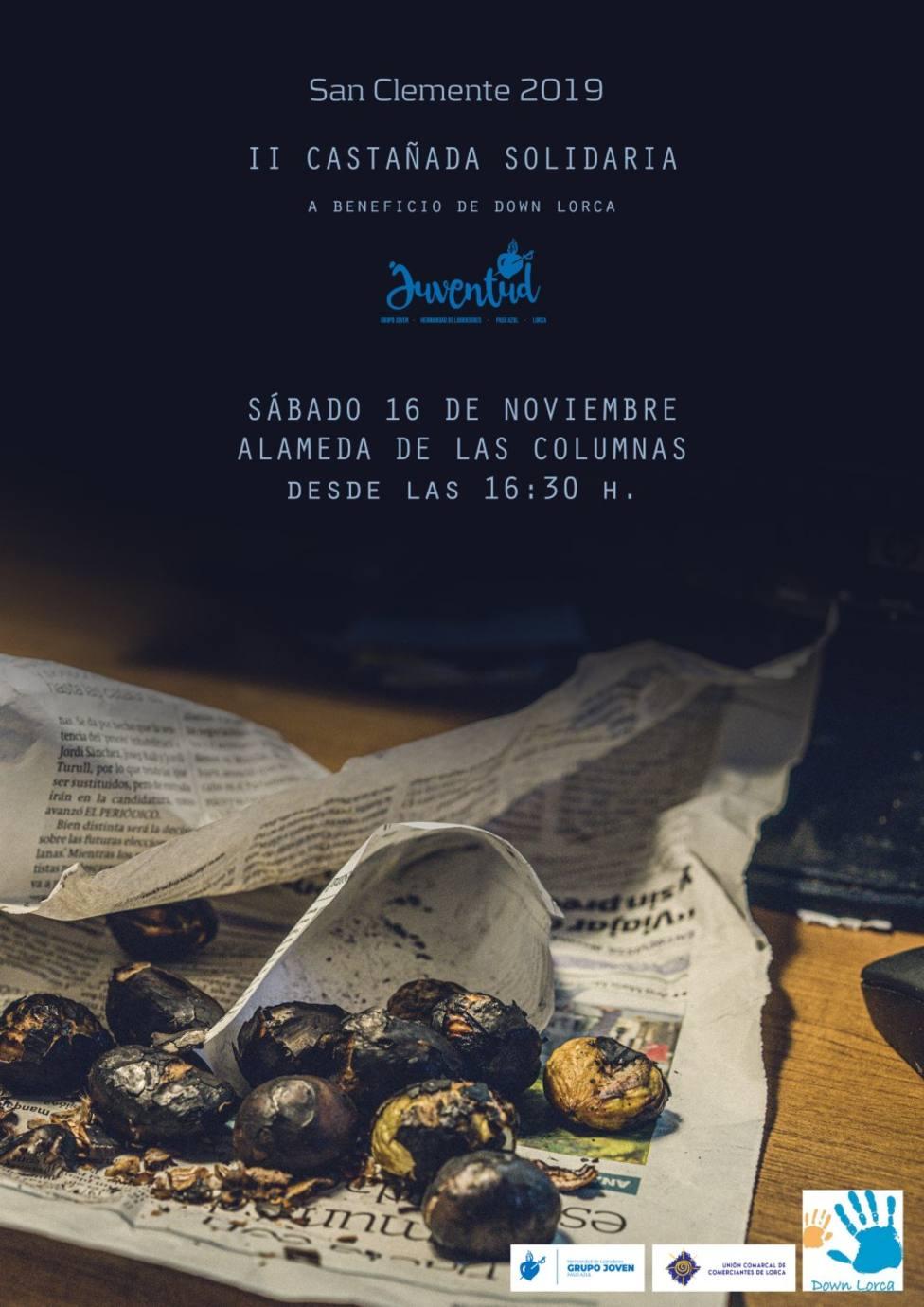 """El Grupo Joven del Paso Azul organiza este sábado su II Castañada Solidaria a beneficio de """"Down Lorca"""""""