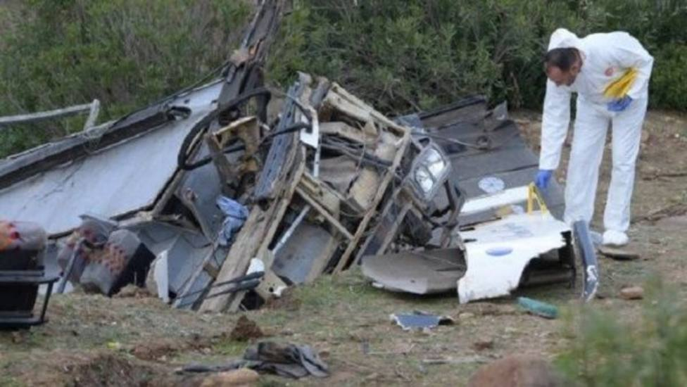 Asciende a 26 el número de muertos en un accidente de autobús turístico en Túnez
