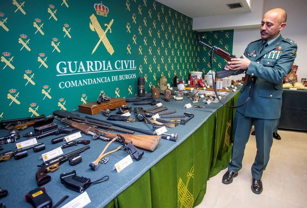La ruta de las armas: de los atentados de París a un piso de Burgos