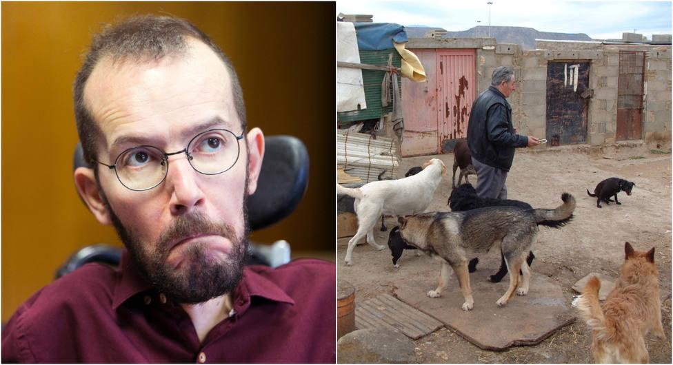 """Echenique asegura que en Vox son """"malas personas"""" por """"plantear matar a perros"""" y las redes le responden así"""