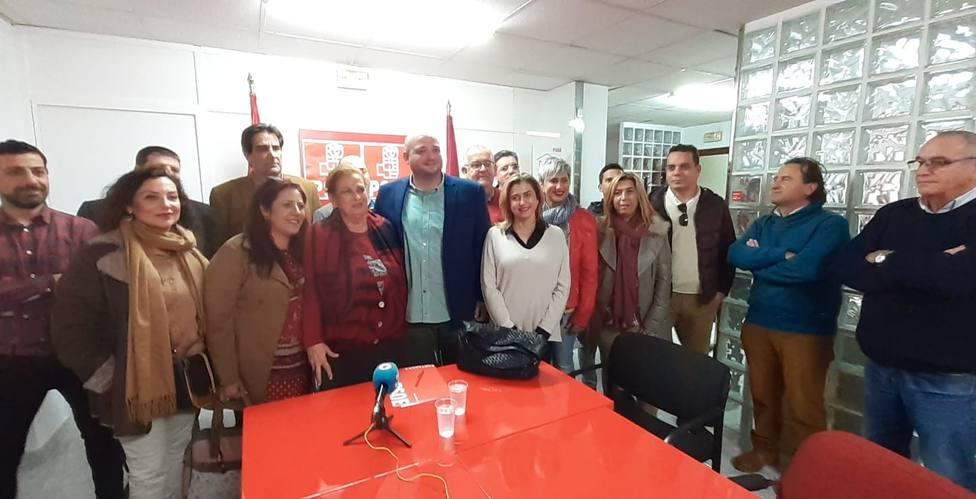 Obdulia Gómez, Carmen Martín del Amor, Carmina Fernandez y Guillamón en la candidatura de Manuel Torres