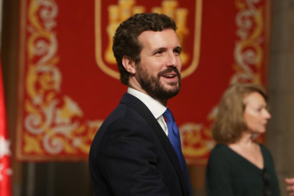 Casado pide una coalición con Cs, socialdemócratas que reniegan de Sánchez y autonomistas de Vox