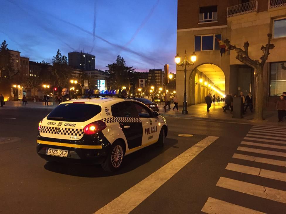 Detenido por atropellar a una mujer en Logroño y darse a la fuga