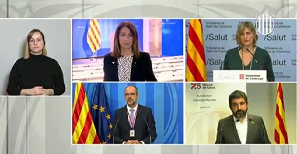El Govern catalán estudia celebrar un acto para conmemorar a los fallecidos de Covid-19