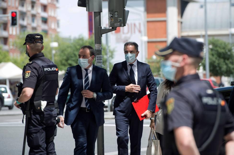 """José Manuel Franco, tras declarar por el 8-M: """"Lamento que no se esté hablando del Ingreso Mínimo"""