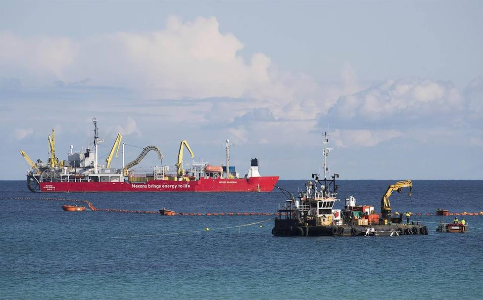 Red Eléctrica pone en servicio el nuevo enlace eléctrico submarinoentre Menorca y Mallorca