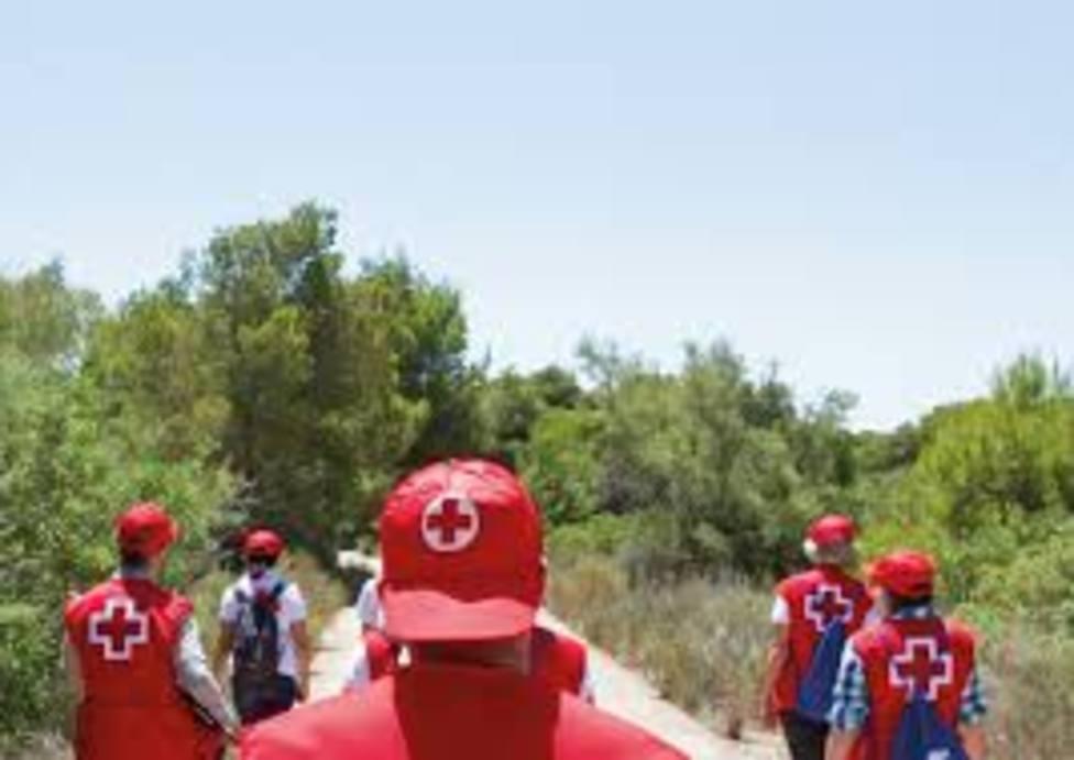 cruz roja voluntariado incendios