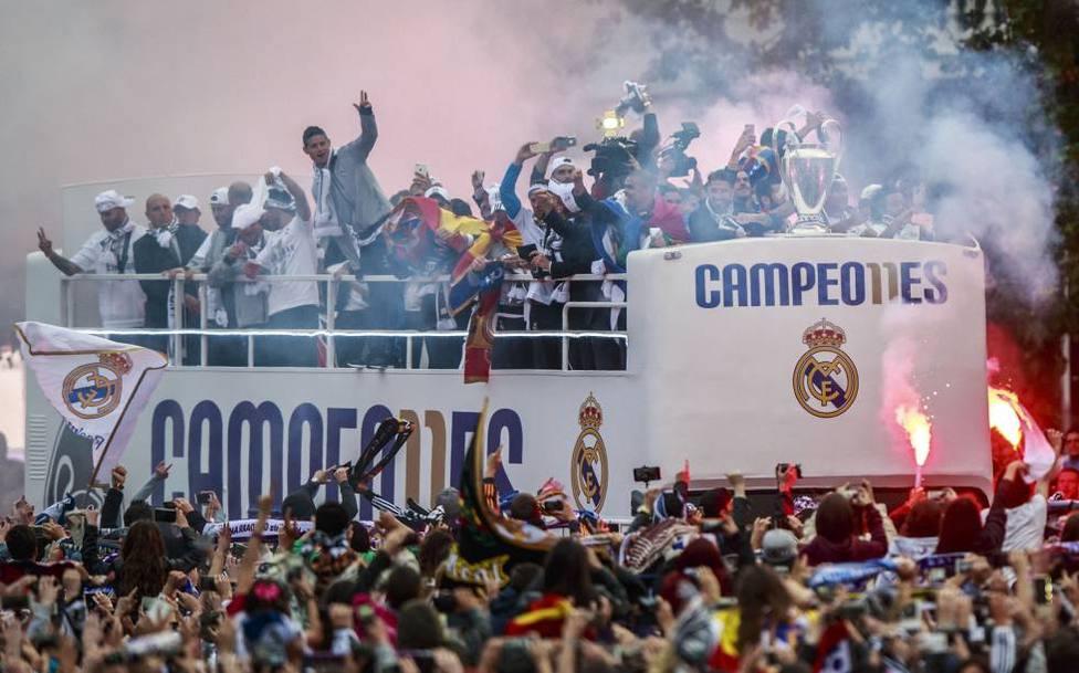 El Real Madrid no tiene intención de celebrar el título de Liga en Cibeles