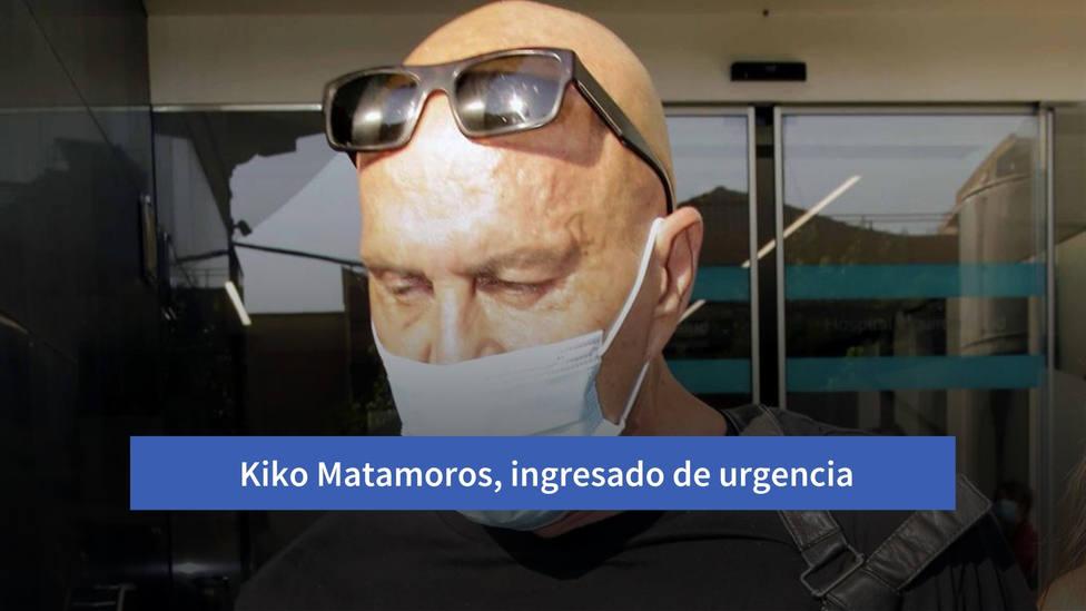Kiko Matamoros, ingresado de urgencia en una clínica madrileña