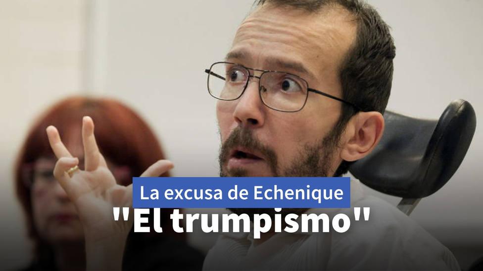 La delirante explicación de Echenique sobre las medidas de Ayuso: Con el trumpismo...