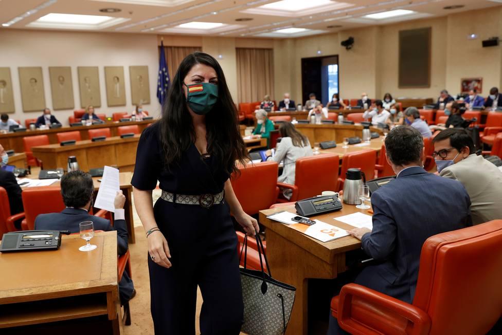 Inadmitida la querella del PSOE contra Macarena Olona (Vox) por injurias a Gobierno