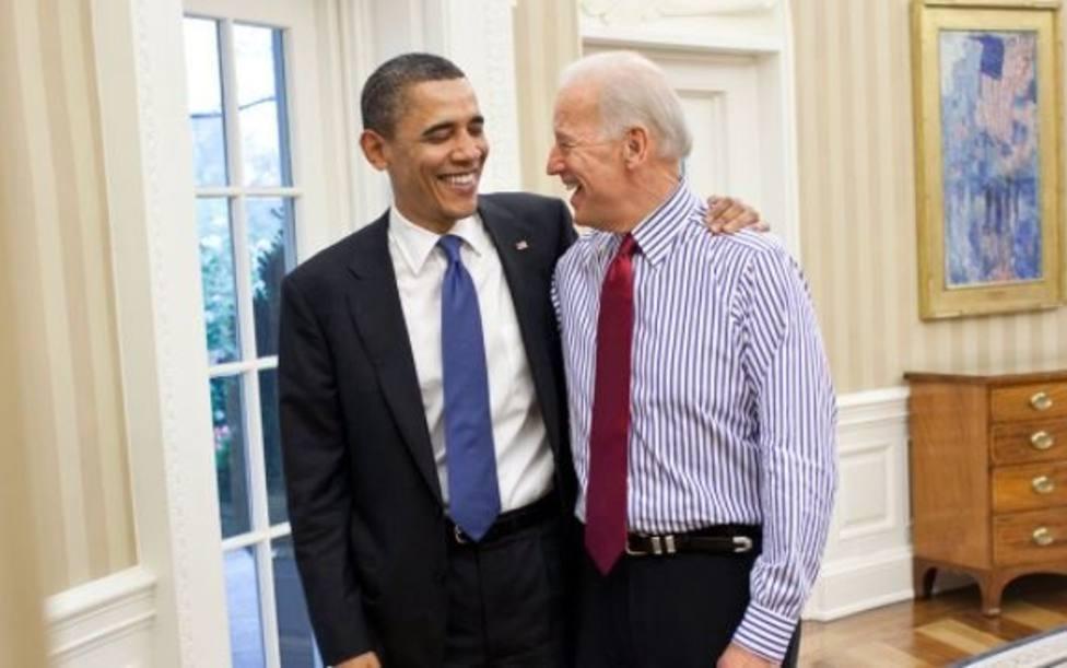 Obama alaba la profesionalidad de Biden y pide el voto para los demócratas: Me hizo mejor presidente